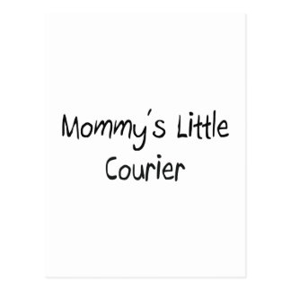 Mommys Little Courier Postcard