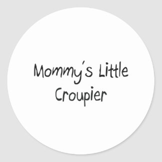 Mommys Little Croupier Stickers