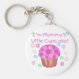 Mommy's Little Cupcake Basic Round Button Keychain