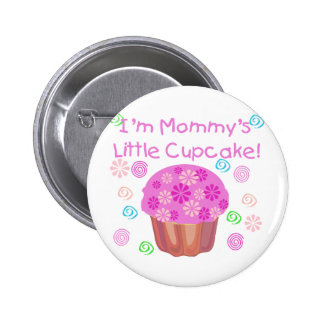 Mommy's Little Cupcake Button