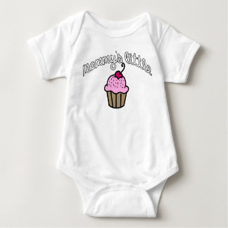 Mommy's Little Cupcake - Pink Baby Bodysuit
