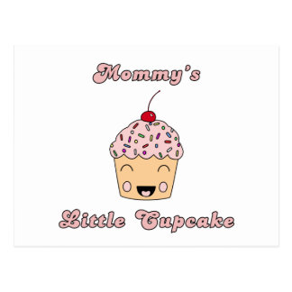 Mommy's Little Cupcake Postcard