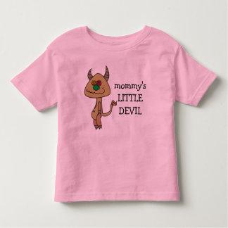 Mommy's Little Devil Funny Girly T-Shirt