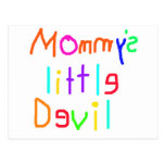 Mommys Little Devil Postcard