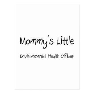 Mommys Little Environmental Health Officer Post Card