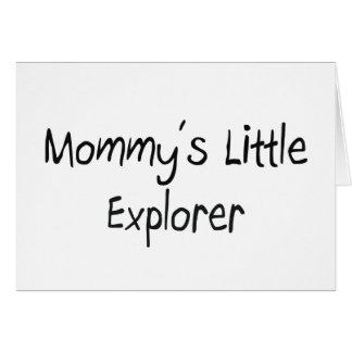 Mommys Little Explorer Card
