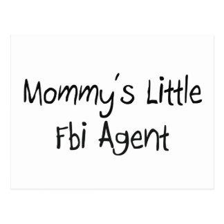 Mommys Little Fbi Agent Post Card