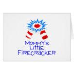 Mommys Little Firecracker Greeting Card