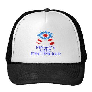 Mommys Little Firecracker Trucker Hat