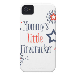 Mommy's Little Firecracker iPhone 4 Cover