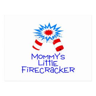 Mommys Little Firecracker Postcard