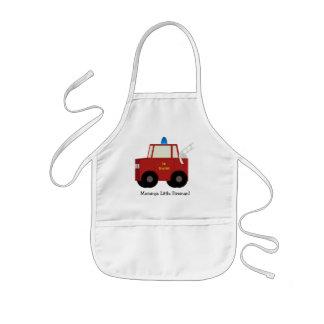 Mommys Little Fireman! Childs Apron