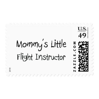 Mommys Little Flight Instructor Postage Stamps