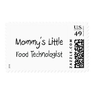Mommys Little Food Technologist Postage Stamp