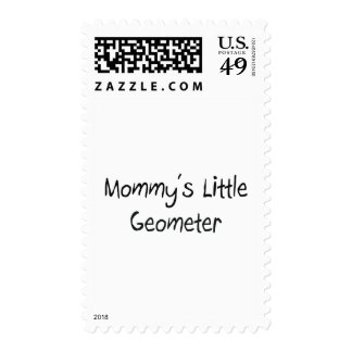 Mommys Little Geometer Postage
