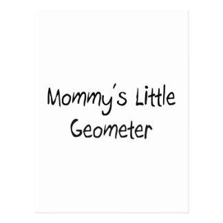 Mommys Little Geometer Postcard