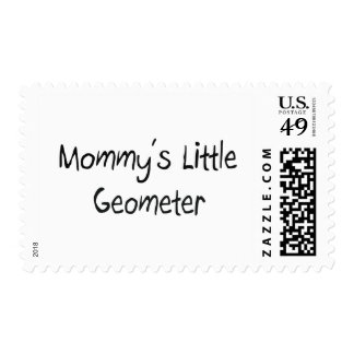 Mommys Little Geometer Stamp