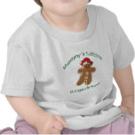 Mommy's Little Gingerbread with a bow. Tee Shirt