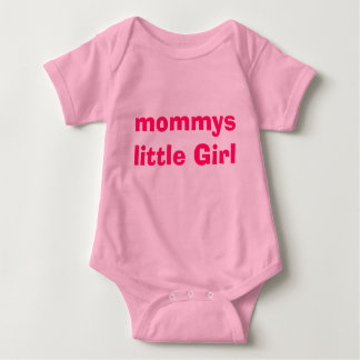 mommys little Girl Baby Bodysuit
