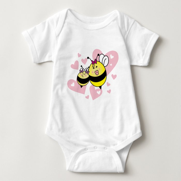 Mommy's little Girl / Petite fille à maman Baby Bodysuit
