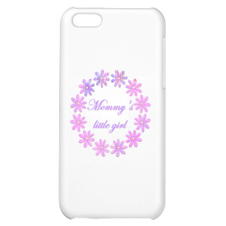 Mommy's Little Girl (pink flowers) iPhone 5C Cover