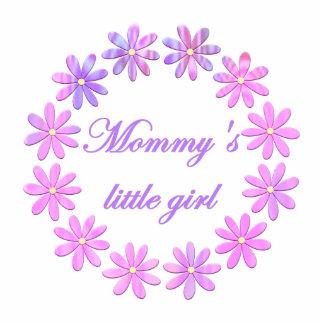 Mommy's Little Girl (pink flowers) Statuette