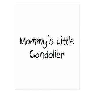 Mommys Little Gondolier Postcard