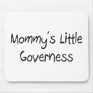 Mommys Little Governess Mouse Mats
