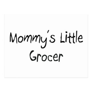 Mommys Little Grocer Post Cards