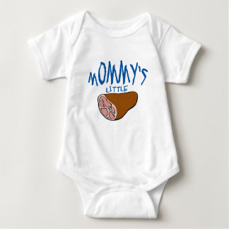 Mommy's Little Ham Baby Bodysuit