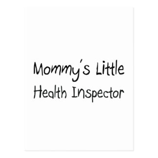 Mommys Little Health Inspector Post Cards