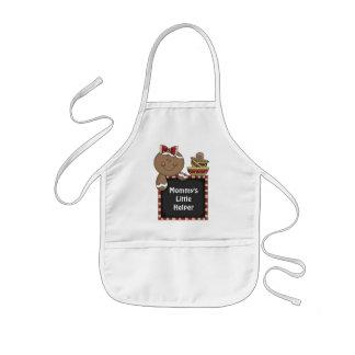 Mommy's Little Helper Gingerbread apron