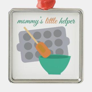 Mommy's Little Helper Metal Ornament