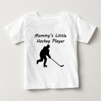 Mommy's Little Hockey Player Shirts