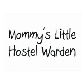 Mommys Little Hostel Warden Postcard