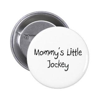 Mommys Little Jockey Button