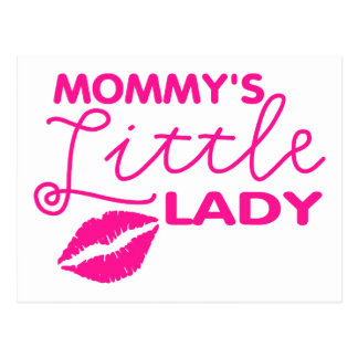 Mommy's Little Lady Postcard