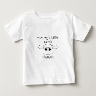Mommy's Little Lamb Baby T-Shirt