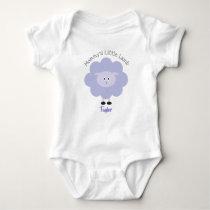 Mommys Little Lamb Cute Purple Gender Neutral Baby Baby Bodysuit
