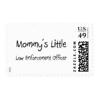 Mommys Little Law Enforcement Officer Stamps