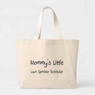 Mommys Little Lawn Sprinkler Technician Tote Bag