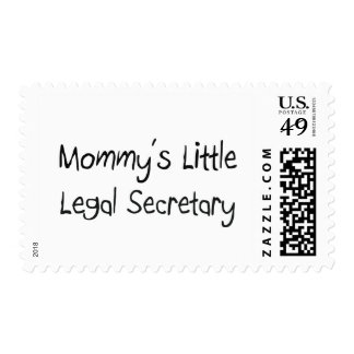 Mommys Little Legal Secretary Postage Stamp