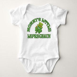 Mommy's Little Leprechaun Baby Shirt