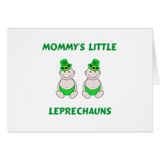 Mommy's Little Leprechauns Card