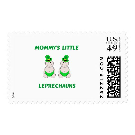 Mommy's Little Leprechauns Postage Stamp