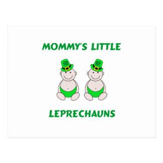 Mommy's Little Leprechauns Postcard