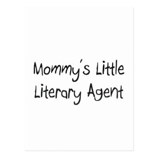 Mommys Little Literary Agent Post Cards