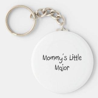 Mommys Little Major Keychain