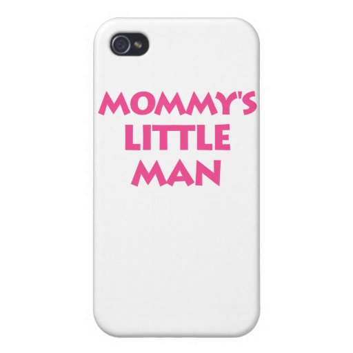 Mommy's Little Man iPhone 4/4S Cover