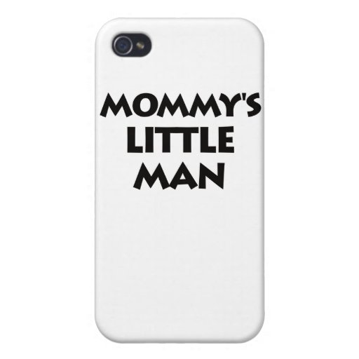 Mommy's Little Man Cases For iPhone 4